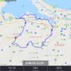 三日月公園から走る① 安能農道から中海サイクリングロード 2018/07/02