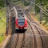 Japanese train turns