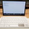 EWIN Bluetooth キーボード タッチパッド付き 非折り畳み式