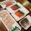 昭和な陸奥湊魚菜市場での最後の朝ごはんを