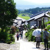 『私の夏紀行』 第一日目 中津川の馬籠宿