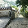 沖縄・金城町、大アカギと石畳