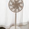 バルミューダのDCモーター高級扇風機「GreenFan Japan」の風が静かで心地よい