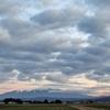 ある朝の鳥海山