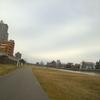 広瀬川河川敷はランニングの練習に最高なコースです!