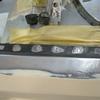 1971 マスタングマッハ1 左クォーターフレームの修復4