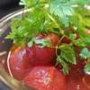 だし入りのお酢、だしのきいたまろやかなお酢でつくるシンプル冷やしトマト