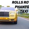 【なにコレ!?笑】インドの高級リゾートホテルが採用した、金ピカのロールス・ロイスのタクシー!
