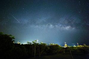はいむるぶし小浜島リゾートホテルから眺める星空・南十字星