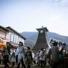 兵庫県豊岡市出石 城下町で行われる春のお祭り