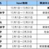 【筆】10月から公務員試験勉強をスタートすると仮定した専門科目の具体的な勉強スケジュール