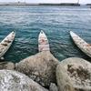 波照間島の神事のシチ(節祭)の舟漕ぎとカフェ(沖縄離島の八重山諸島の波照間島)