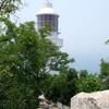 遼東半島の先端老鉄山灯台