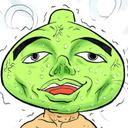 スライム君の筋トレ日記(4コマ漫画)