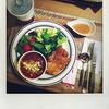 KFC Plus 葛西店の「たっぷりサラダプレート」を食べました。