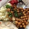 ひよこ豆のインド風:これはナンですか(苦笑)