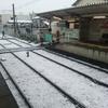 2センチ足らずの雪が 科学の街 東京を一日でぬりかえる ♪