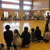 4年生:ボッチャ体験交流② 模範試技、ボッチャ体験
