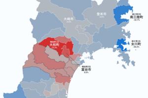 3.11から7年。東日本大震災以降の人口変化をまとめてみた(その1:宮城県)