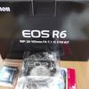 EOS R6 が届いた