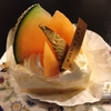 FOUNDRY:旬のメロン&桃のショートケーキ♡