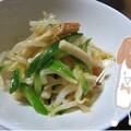 もやしのナムルは簡単で安くて美味しい! ちくわときゅうり入り、にんにく風味もおすすめです。