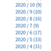 2020年振り返り