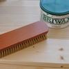 BRIWAXでワックスの効いた滑らかな木製パームレストを作る