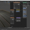 TEXTURE HEVENを利用してBlender2.8で床や壁の綺麗な質感を作る その4(ラフネス用テクスチャとノーマルマップの設定)