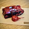 ついに完成(ほぼ)・九七式軽装甲車「テケ-リボンの武者ver.」