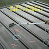 屋根塗装2(大手プレハブの古い物件02)