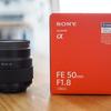 Eマウントの撒き餌レンズSONY FE 50mm F1.8(SEL50F18F)を買ってみました