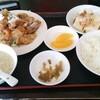 水戸(酒門)【四季紅】ユーリンチー定食 ¥650