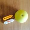 苦手な柑橘系の皮むき