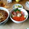 北海道 阿寒町 郷土料理 奈辺久 / 姫鱒のイクラ丼