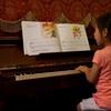 【稽古始め】6歳の6月6日にピアノを始めた