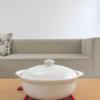 白い土鍋!