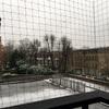 ロンドンで雪