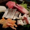 お寿司屋さんで旬のお魚をいただき、季節を感じました