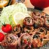 薄切り肉の串焼き☆豚肉のしそ巻き