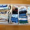 セリアで人気の仕切りケース!子供の衣類・小物もスッキリ取り出しやすく♪