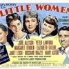 映画「若草物語」(1949)ジューン・アリソン、エリザベス・テイラー。