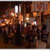 雪の夜空に花火が印象的! 飛騨神岡の初金毘羅宵祭へ行こう。