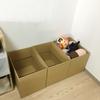 限られたスペースで快適に暮らす工夫。収納は、なるべく用途を限定しないものを選ぶ