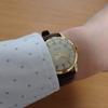 今日の時計:オレオール 手巻き時計