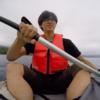 支笏湖にある美笛キャンプ場でカヌーを体験して来た