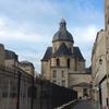 ヴィラージュサンポールからサンポール寺院を眺める