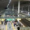 東北新幹線八戸駅 目を引く楕円形シェルター