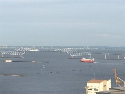 いつまでも見ていられる風景〜色んな船が行き交います〜