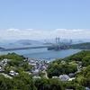 岡山 倉敷観光 その5 鷲羽山の「とある温泉ホテル」からの瀬戸大橋